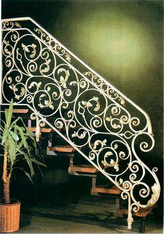 Cầu thang đẹp sắt mỹ thuật trong trang trí nội thất mang lại cho ngôi nhà sự sang trọng, Khac, mua bán, mua ban, rao vat, Do gia dung Noi that
