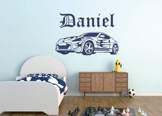 F CAR Vinyl Wall Sticker Decal Wall Art Stencil Formula One - Wall decals cars