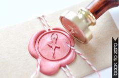 Ballerina Gold Plated Wax Seal Stamp x 1 by BacktoZero on Etsy, $20.00This is sooo perfect for Caitlin!