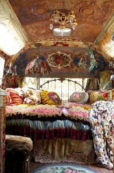AT LEAST THE GYPSIES SEEM TO HAVE COMFORTABLE SLEEPING QUARTERS…….ccp