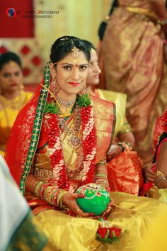 Gold Jewelry From Egypt Key: 5198415835 Indian Wedding Ceremony, Saree Wedding, Wedding Attire, Wedding Bride, Bridal Sarees, Wedding Outfits, Beautiful Saree, Beautiful Bride, Bridal Looks