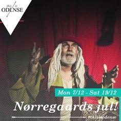 Jul @ Nørregaards Teater. Gå gennem teaterets levende gange og mød en verden af mystisk og skønhed. Læs anbefalingen på: http://www.thisisodense.dk/da/21567/jul-noerregaards-teater