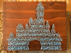 Original Disney castle string art                                                                                                                                                      More