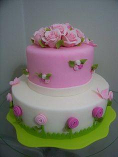 Pink Flowers #matildetiramisu #concorso #dolciricette