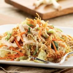 Chinese Chicken Salad- a quick, easy and healthy chicken recipe