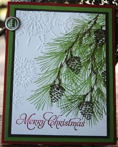 Stampin' in My 'Jammies: STAMP SET OF THE MONTH;WATERCOLOR WINTER