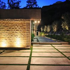Modern Slab Driveways Design Ideas, Pictures, Remodel, and Decor