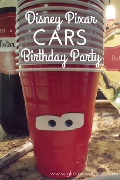 Disney Pixar Cars birthday party ideas, decorations, and planning diy cheap and easy