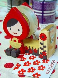 Decole Japan Little Red Riding Hood Tape by mechakucha808 on Etsy, $16.98