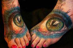 Foot eyes