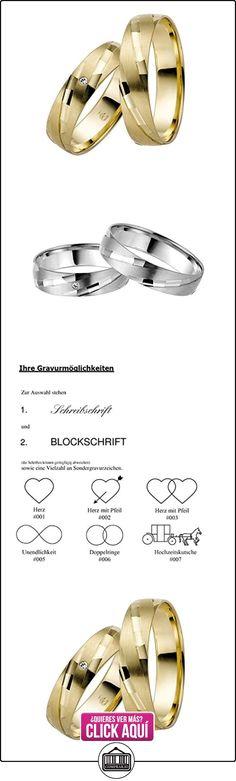 Rauschmayer un par de anillos boda Easy Pair 03687, Legierung:333/- oro amarillo  ✿ Joyas para hombres especiales - lujo ✿ ▬► Ver oferta: https://comprar.io/goto/B0117H8MAY