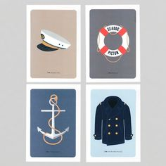 Hello sailor! Feel like a touch of naughty nautical in your home?