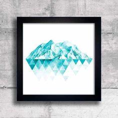 Quadro Blue Mountains - comprar online