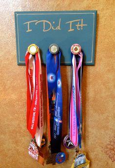 Medal Holder - idea for B's medals