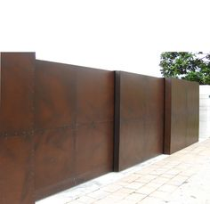 recinzione corten verticale - Cerca con Google