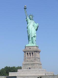 Statue of Liberty - New York, NY. National Historic Civil Engineering Landmark