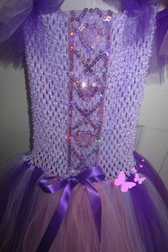 Close up on rupunzel inspired