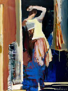 """""""Doorway 2"""" by Linda Christensen  ~ 48 x 36"""