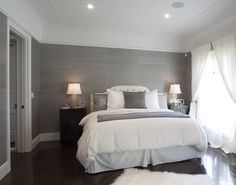 Seyie Design- Neutral bedroom design in Los Angeles, CA #interiordesign #interiors #fashionable #chic