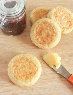 Crumpets | Low FODMAP