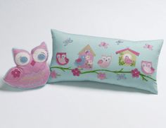 Giveaway: Quilt Cover Set and Owl Cushion