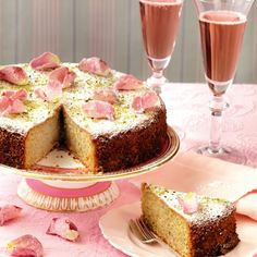 Pistachio and Rose-Water Cake Recipe on Yummly. @yummly #recipe