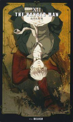 Kohsuke, GANGSTA., Delico, The Hanged Man, Tarot Cards, Collarbone