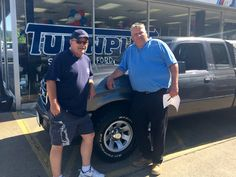 Johnny Dickens and the rest of the Turnpike Ford Family wish to thank Mr. Greene for his business