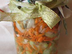 Sałatka ogórkowa do słoików - medium
