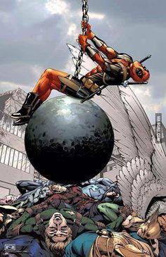 Deadpool > Mikey Cyrus