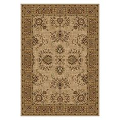 On Sale NOW at Target.com! Our lovely Tibet White traditional style area rug.