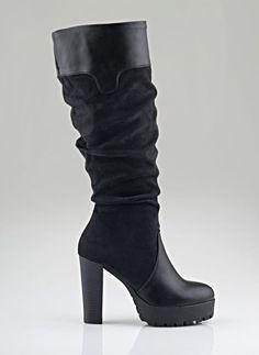 CARAD SUEDE ΜΠΟΤΕΣ TRACKSOLE C-1300 - The Fashion Project - Γυναικεία παπούτσια, ρούχα, αξεσουάρ