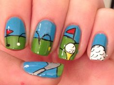 Found On Google From You New Nail Designs Polish Golf