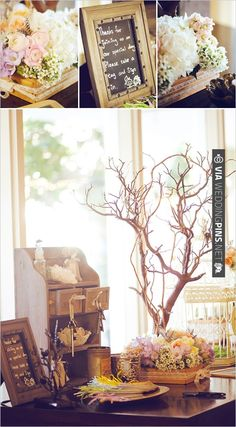 guest book table | VIA #WEDDINGPINS.NET