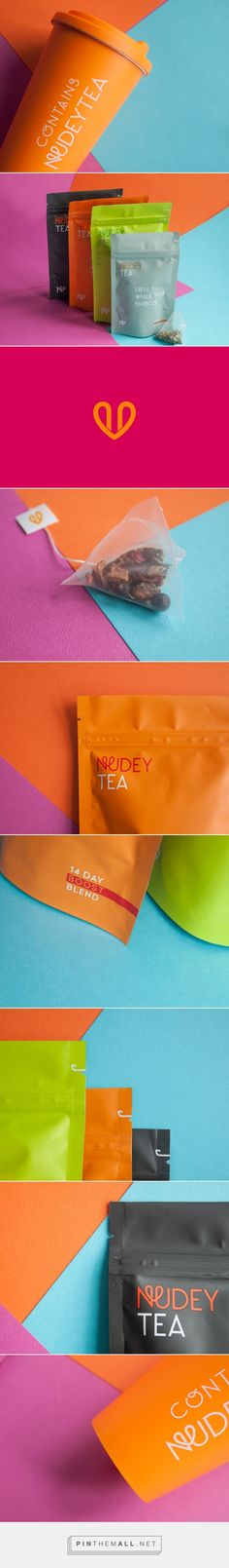 Nudeytea on Packaging Design Served by nice cream cone