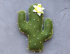 Cactus Pin Cushion Pattern | Pretty Prudent