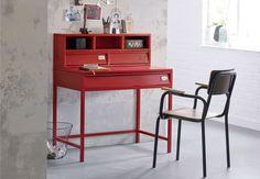 Bureau métal hiba organizing desks and interiors