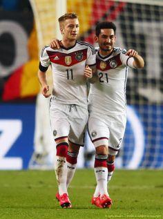 Marco Reus and Ilkay Gundogan - GermanyNT