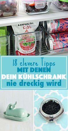 18 simple Tricks, wie dein Kühlschrank niemals dreckig wird