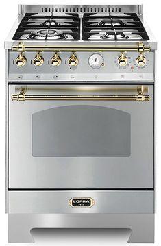 Lofra - Dolce Vita 60 cm (Gaskomfur + Gasovn) 1 ovn | Range Cookers fra MyRangeCooker.dk