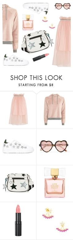 """""""Untitled #213"""" by ivanov1234491 ❤ liked on Polyvore featuring Mother of Pearl, Topshop, Chiara Ferragni, Cutler and Gross, Marc Jacobs, Kate Spade and Rimmel"""