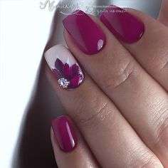The best flower nail art designs - 100 images - # check more at nag . - The best flower nail art designs – 100 images – # Check more at nageldesing. Spring Nail Art, Spring Nails, Summer Nails, Gel Designs, Cute Nail Designs, Nail Art Flowers Designs, Flower Design Nails, Beautiful Nail Art, Gorgeous Nails