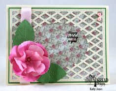 Hello Everyone! Roses are still blooming at ODBD  and today I have another card using all the fabby new April releases that I seem to be ...