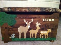 Tatum's Forest Friends Toy Box made by CCCbyReta
