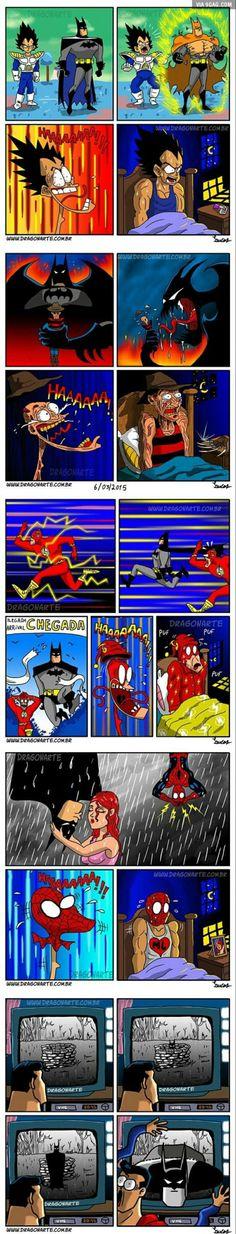 Everyone is afraid of batman