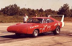 """""""Everyone knows Charger Daytona for its heroics. But it saw drag strip duty, too. 1969 Dodge Charger Daytona, Dodge Daytona, Daytona 500, Vintage Cars, Antique Cars, Dodge Muscle Cars, American Motors, Drag Cars, Car Photos"""