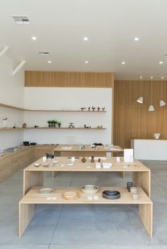 Formerly Yes, a museum-like retail space in Downtown Los Angeles, offers well designed and functional goods for the home and office. Founded in 2014 by Brad and Jenna Holdgrafer who wanted to blend work, life, and being creative together. Formerly Yes  is designed to showcase an assortment of product from around the world, from the classic Sori Yanagi Kettle to Tapio Wirkkala glasses. Brad, Jenna and their dog, Ernest, take pride in being on hand every day to meet their customers. They talk…