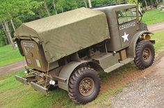 Driving a WWII era military truck: If the machine guns don't get you pulled over… This was so differnt, I had da pin it! History Online, Drive A, Jeep Truck, German Army, Armored Vehicles, World War Two, Military Vehicles, Ww2, Vintage Cars