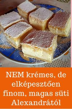 Hungarian Recipes, French Toast, Dessert Recipes, Food And Drink, Sweets, Cookies, Breakfast, Recipes, Dessert Food