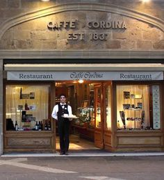 Caffe Condina, est 1837, one of the oldest in Valletta | Malta